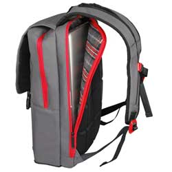 Altego Channel Stitched Ruby 17-Inch Laptop Backpack Product Shot