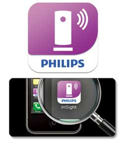 Philips In.Sight Wireless Home Monitor, M100/37 Product Shot