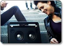 TDK A73 Wireless Boombox Product Shot