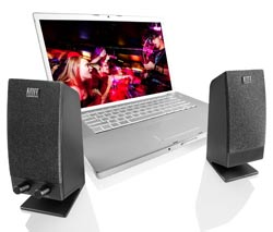 Altec Lansing BXR1320 Two-Piece Stereo Speaker System