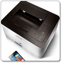 Samsung CLP-365W Color Laser Printer Product Shot
