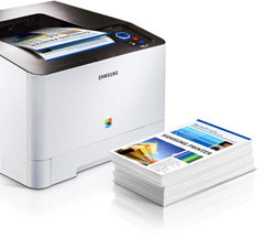 Samsung CLP-415NW Color Laser Printer Product Shot