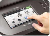 Samsung CLX-4195FW Multifunction Printer Product Shot