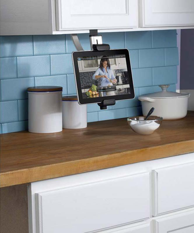 Belkin kitchen cabinet tablet mount computers for Amazon kitchen cabinets