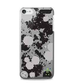 Shield Splatter Case for iPod touch (Overcast, Indigo, Dayglow) Product Shot