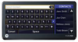 Motorola MOTONAV™ TN765t