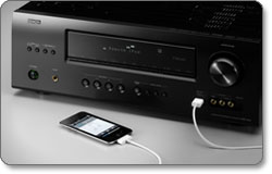 Denon AVR-1912 7.1 Home Theater Receiver lifestyle shot