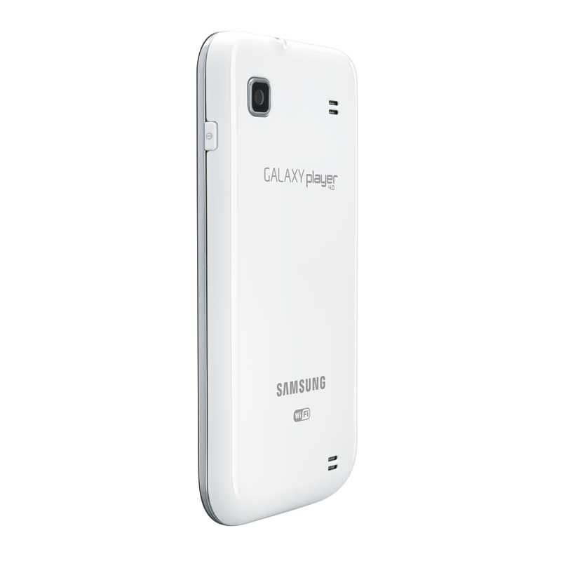 The compact Galaxy Player 4.0 is easy to take with you anywhere.
