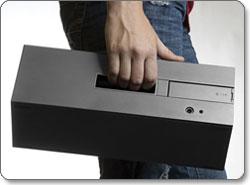 Altec Lansing inMotion Air Universal Wireless Speaker Lifestyle Shot