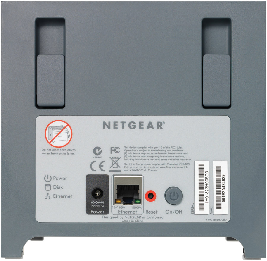 Amazon.com: NETGEAR Stora 2-Bay 1 TB (1 x 1 TB) Network Attached