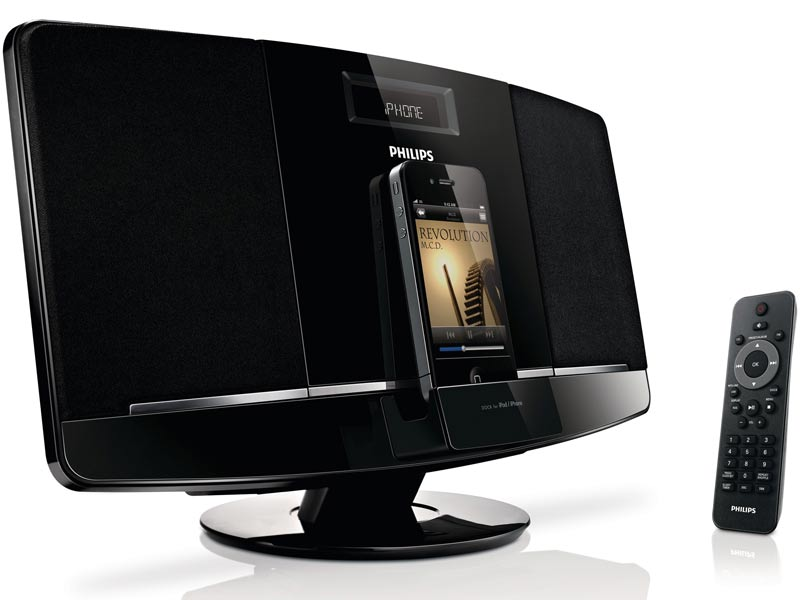 Amazon.com : Philips DCM2055/37 Micro Music System Dock for iPod ...