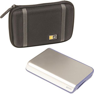 Amazon.com: Case Logic PHDC-1 Compact Portable Hard Drive Case (Black
