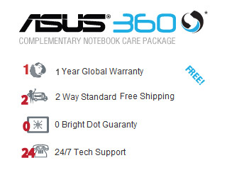 2 Years Global Warranty Included