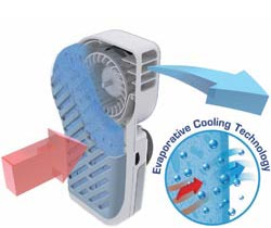 Handy Cooler Evaporative Cooling Technology