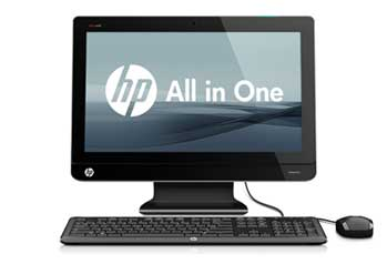 HP Omni 220-1125 PC Front View