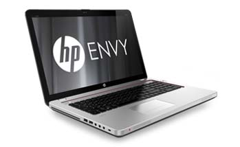 HP Envy 17-3070NR notebook PC Left View
