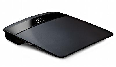 Linksys E1500 Wireless-N Router - top