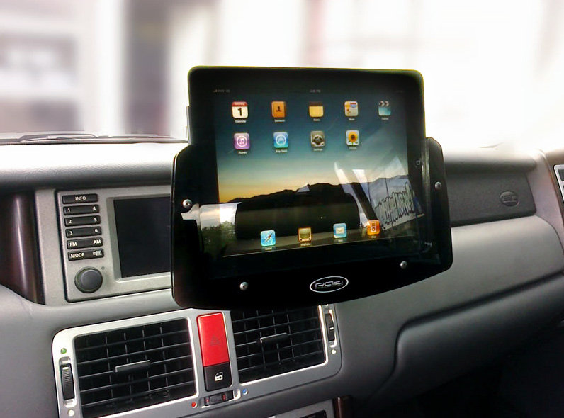 Padholdr iPad 1,2 and 3 Holder for Dash in Vehicles Universal Fit
