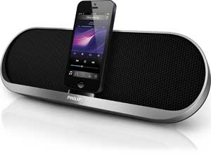 Philips DS7580 Speaker Dock for iPhone 5 Product Shot