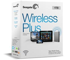 Ổ cứng Seagate Wireless Plus 1 TB (STCK1000100)