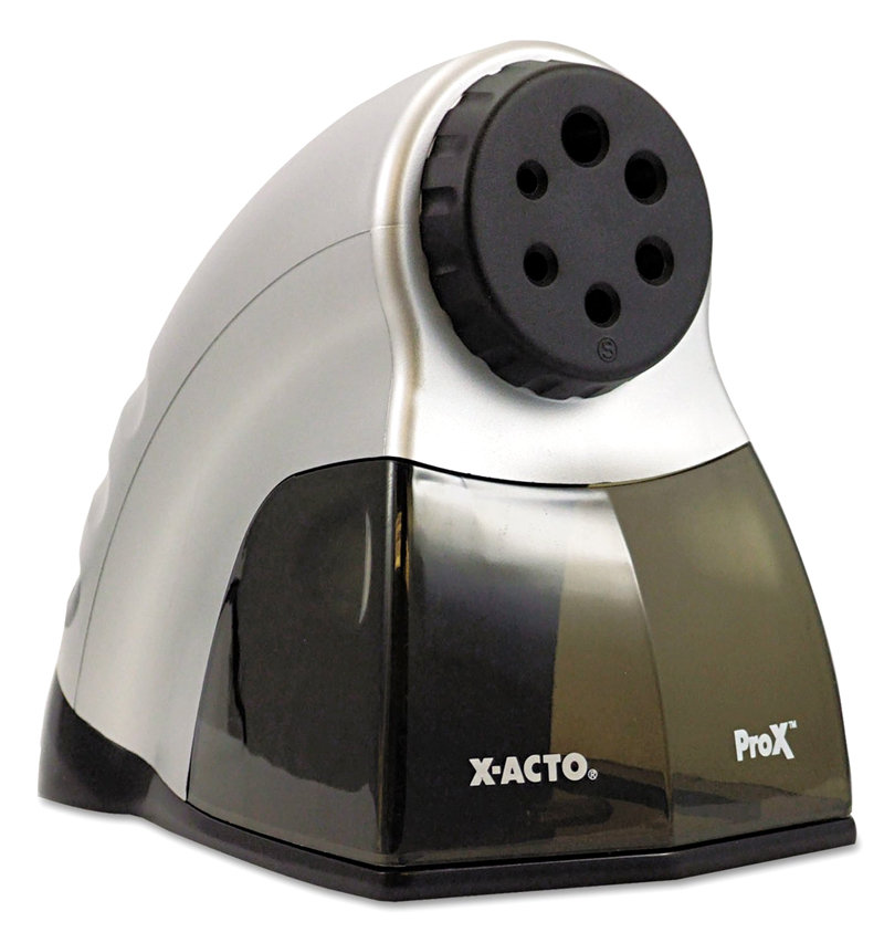 Amazon.com : X-ACTO ProX Electric Pencil Sharpener with ... X Acto Electric Pencil Sharpener