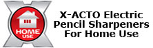 X-ACTO Electric Pencil Sharpeners for Home Use