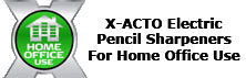 X-ACTO Electric Pencil Sharpeners for Home Office Use