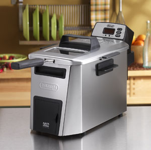 Dual Deep Zone Deep Fryer by DeLonghi