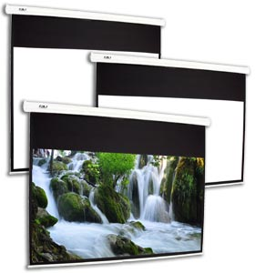 Favi Entertainment Electric Projection Screens