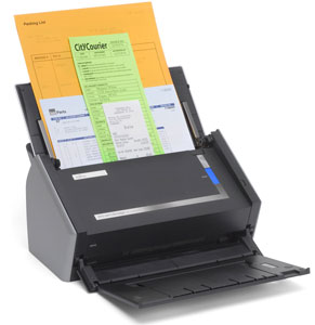 Fast scan up to 50 pages worth of documents