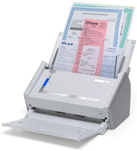 The ScanSnap S1500M by Fujitsu