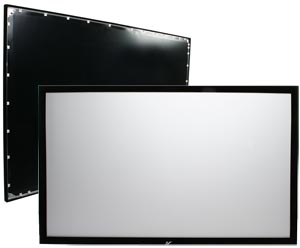 Elite Screens 16 9 SableFrame Fixed Projector Screen 51 9Hx92 2W