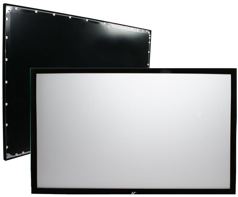 Elite Screens 16 9 SableFrame Fixed Projector Screen 54Hx96W