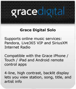 Grace Digital Solo at a Glance