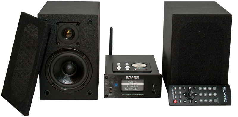 Grace GDI IRMS300 Internet Micro Hi Fi Stereo System