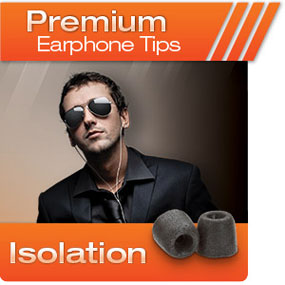 Comply Foam Premium Earphone Tips Isolation T-Series
