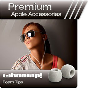 Comply Foam Premium Apple Accessories Whoomp! Foam Tips