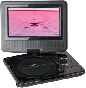 Sylvania SDVD7024 7-inch Portable DVD Player