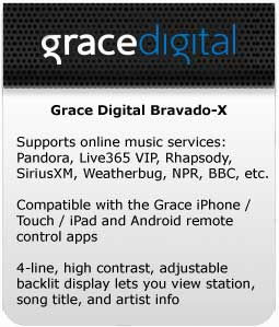 Grace Digital Bravado-X at a Glance