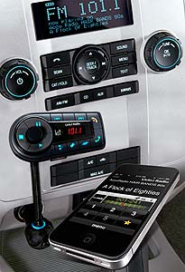 Livio Radio Bluetooth Internet Radio Car Kit