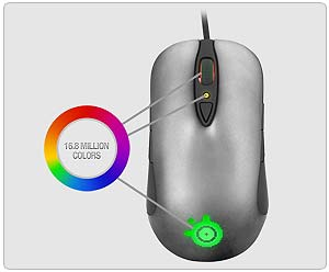 SteelSeries Sensei Laser Mouse 16.8 Million Colors