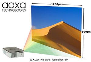 Aaxa KP 600 01 P300 Pico Micro Projector