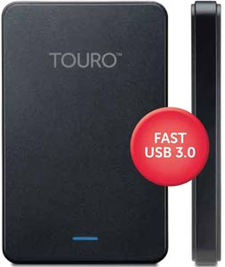 HGST Touro Mobile External Drive