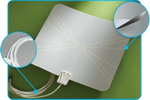 Winegard FlatWave Indoor HDTV Antenna