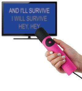 The Singing Machine 4TV Microphone