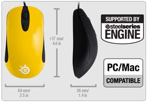 SteelSeries Kinzu v2 Gaming Mouse