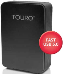HGST Touro Desk External Hard Drive