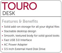 HGST Touro Desk External Drive