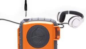ECOXPRO by Grace Digital with a Univesal 1/8 Headset Jack