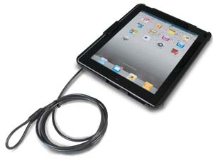 CTA Digital Anti-Theft Case with Built-in Stand for all iPads